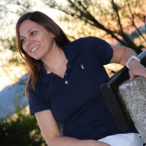 The Blausee – Polo Shirt Navy Blue Women