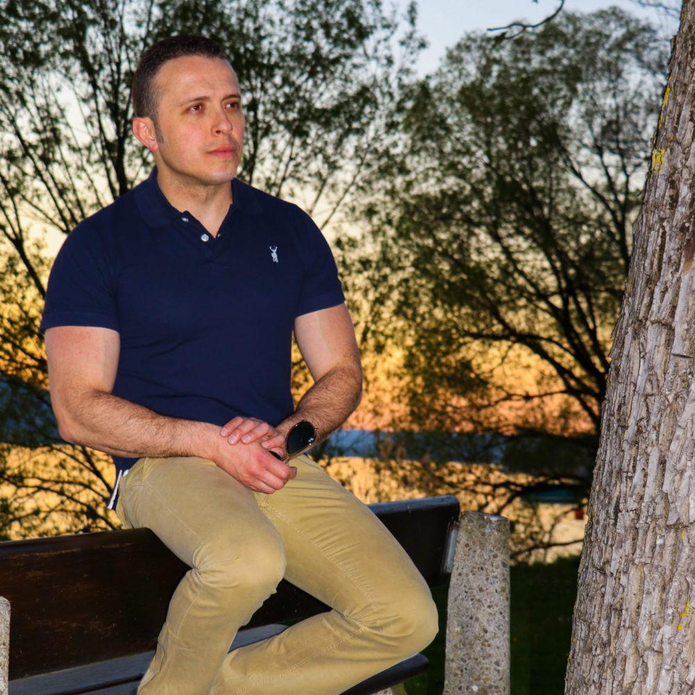 The Blausee - Polo Shirt Navy Blue Men